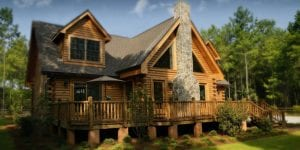 build your dream home cabin