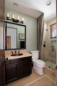 Remodeling before the holidays Guest Bathroom Ideas