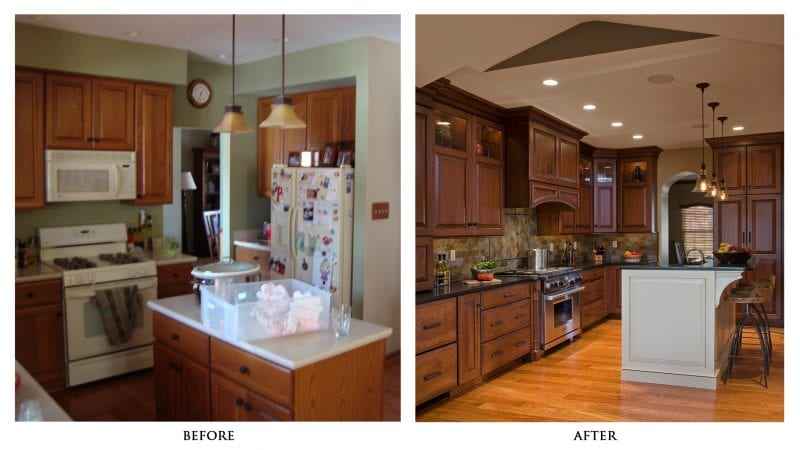 kitchen remodeling before after