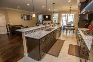 kitchen family remodeling before the holidays