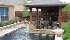 Sharrett Construction - perfect outdoor living space