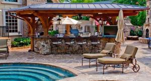 Sharrett Construction - perfect outdoor living space