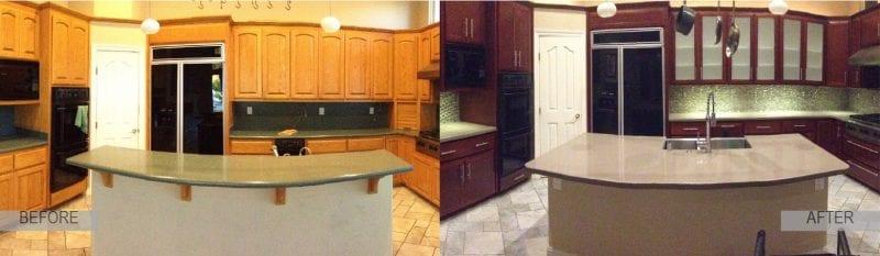 quick kitchen remodeling sharrett construction lakeland